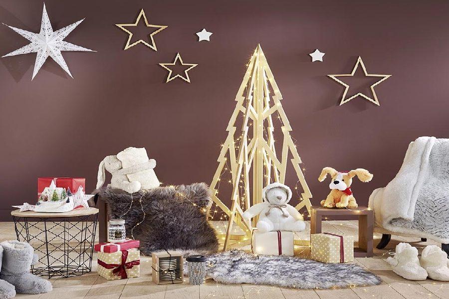 Comment intégrer un «sapin de Noël» dans un petit espace?