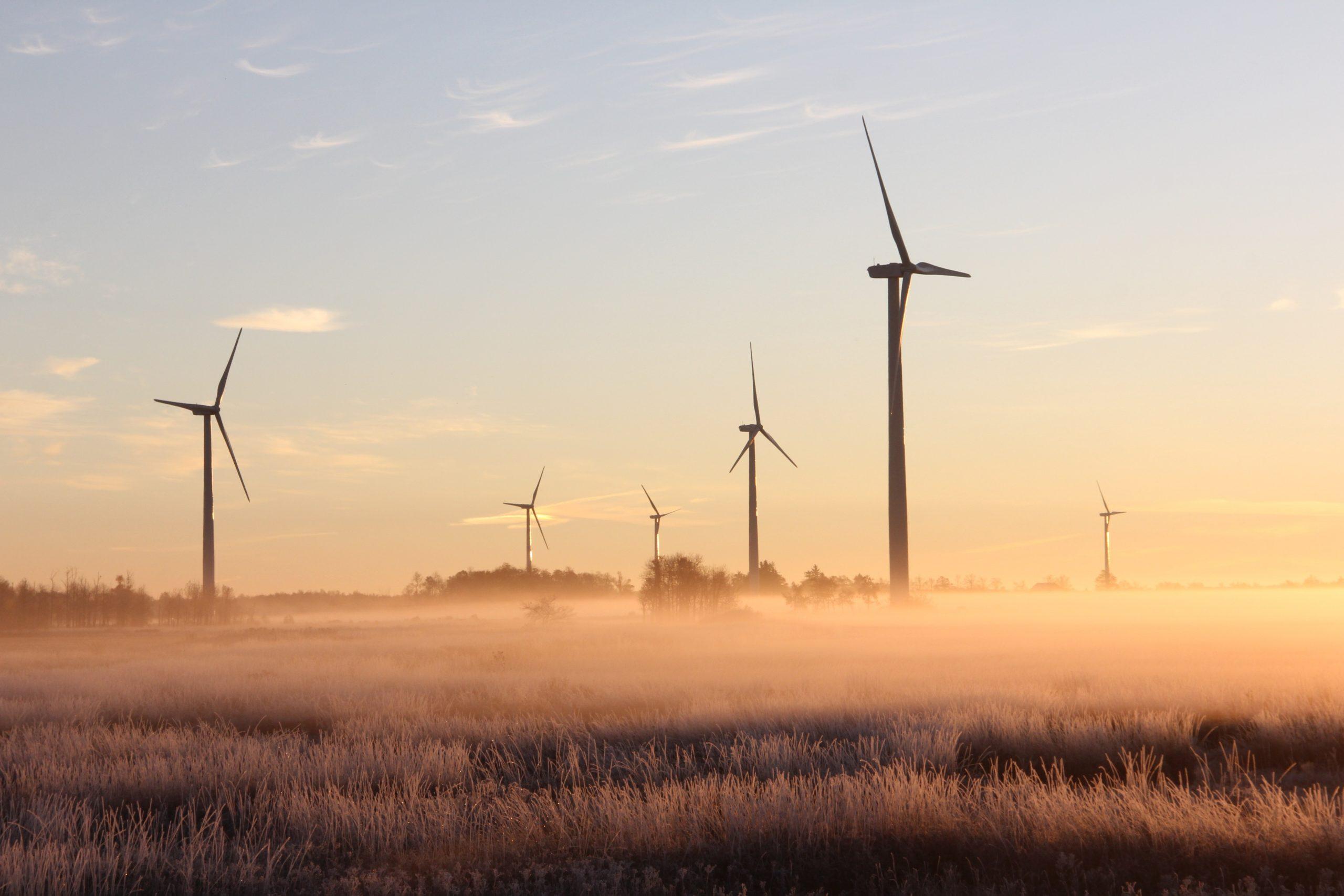 Eoliennes d'un fournisseur électricité verte